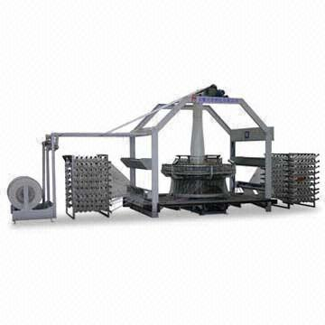 Circular Loom Machine with Automatic Warp Transmission Unit