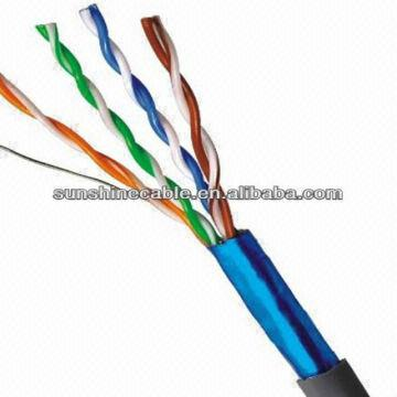 4 Pairs Ftp 23awg Cat6a Lan Cable/network Cable/belden Cat6a Cable ...