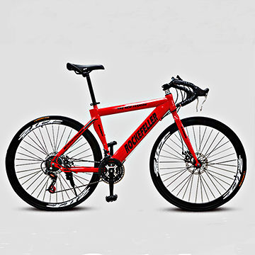 700c 26\'\' 21-speed Carbon Steel Frame Road Bicycle with High quality ...