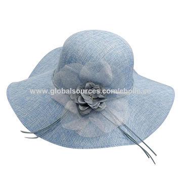 Elegant Wide Brim Sinamay Hats China Elegant Wide Brim Sinamay Hats 22d7c9f01ef2