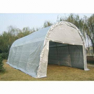 B1053059778 deluxe dome carport, sized 4 x 6, 5 x 8 and 5 x 10m, made of pe