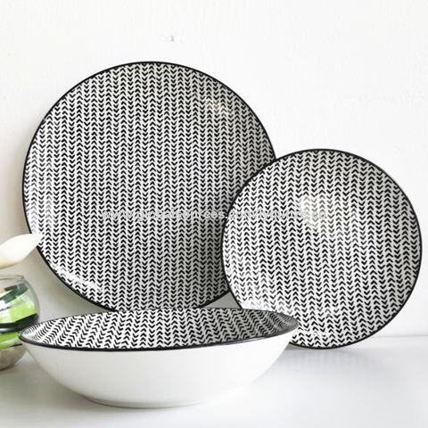 China ceramic colour glazed dinnerware set China China ceramic colour glazed dinnerware set  sc 1 st  Global Sources & China China ceramic colour glazed dinnerware set fashionable ...