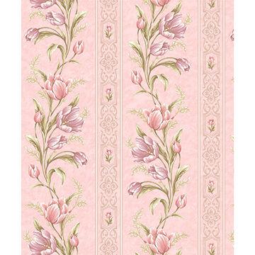 China Wholesale 106m Flora Vinyl Korean Wallpaper Home Decor