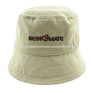 88e10f36429 China Silkscreen logo bucket hat
