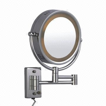 China Wall Mount Version Magnifying Lighted Hotel Bath Mirror