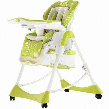 China Baby Stroller, Aluminum Frame Of 3 In 1, High Chair,