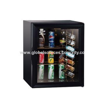 38l Bar Fridge Office Quality Upright Glass Door Freezer W6 With