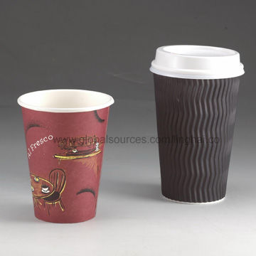 China Disposable Customized Lid for Coffee Cups, Made of PS Material