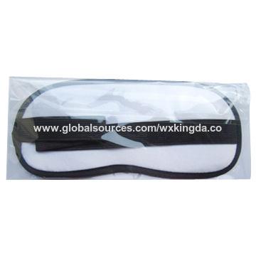 China Custom Printed Hot Sale Microfiber Eye Mask
