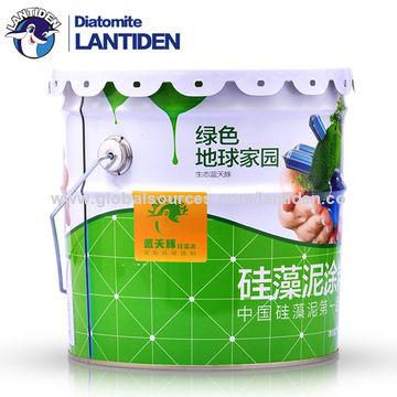 ... China Washable Non Toxic Liquid Water Based Diatom Mud Interior Paint  ...