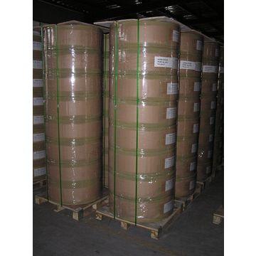 Thermal paper in jumbo reels for supermarket, shop cash