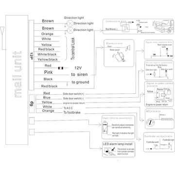 Car Alarm Wiring Diagram Sestem Wiring Diagram