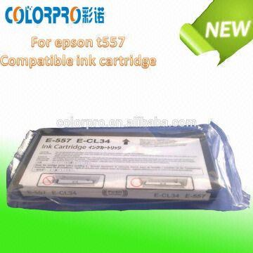 Foctory Direct Sale Compatible Ink Cartridge T557 For Epson Picture
