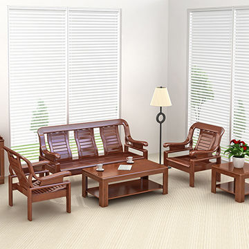 China Environmentally Friendly Simple Wooden Living Room ...