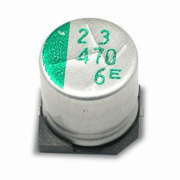 Taiwan Smd Aluminum Electrolytic Capacitor With 4 To 100v