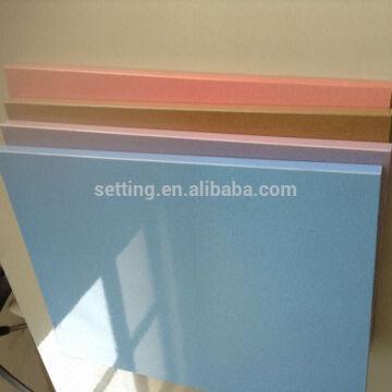 china 1220 x2440 x18mm metallic color uv mdf veneer