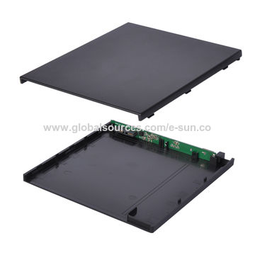 China New 9.5mm USB 3.0 SATA DVD Driver Burner Case