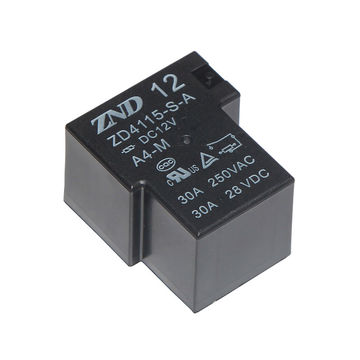 China ZD4115/T90/4-pin 12V/30A Power Relay for Industrial Machine Use