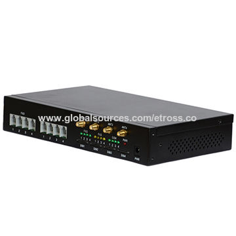 Analogue 4 Channels GSM Gateway