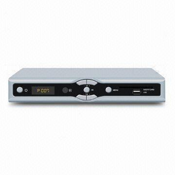 DVB-S2 HD Satellite Receiver, Supports Conax 7 0/Gospell CA and USB