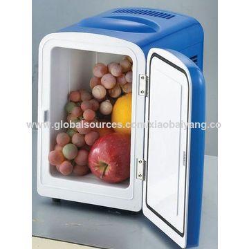 Cooler/Warmer 12V 4L Mini Car/Household Small Dual-use Refrigerator, Insulin