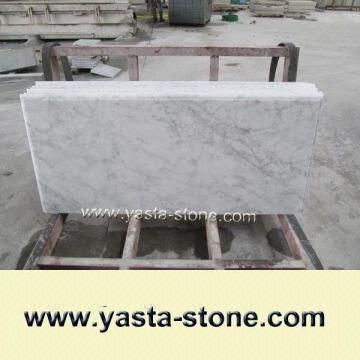 Bianco Carrera White Marble Countertops High Quality White Mable - Marble slab for bathroom vanity