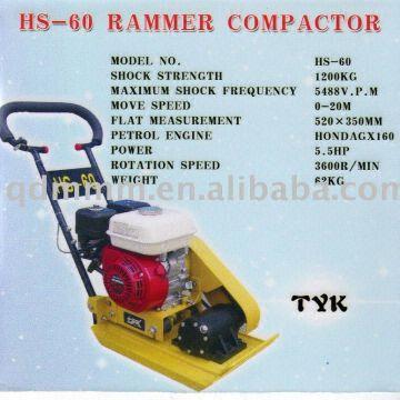 vibrator Concrete plate