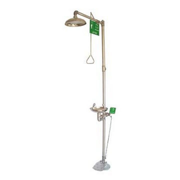 304 stainless steel Emergency Safety eyewash & shower Composite ZH-6610 |  Global Sources