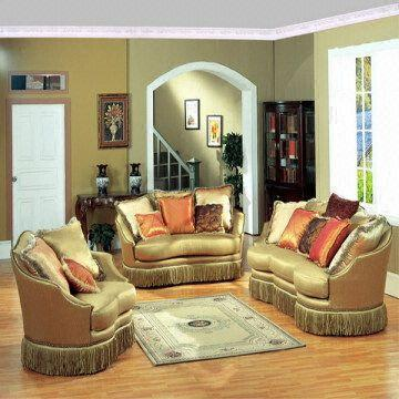 American Style Sofa Set Fabric Couch Hotel Furniture Home Sofa