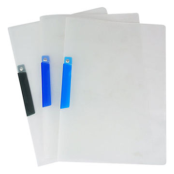 custom colored a4 size plastic pp document reporting file folder
