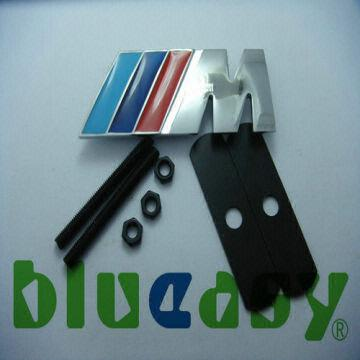 Bmw M3 M5 M6 M1 X6 X5 Series 3d Metal Emblem Car Logo Front Grill