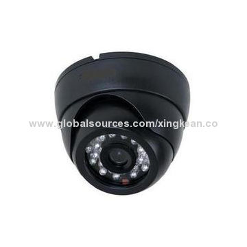 1 3MP IP Camera with Linux Operating System, Dual-stream