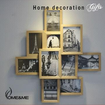 Multi Wooden Photos Frame for Home Design | Global Sources