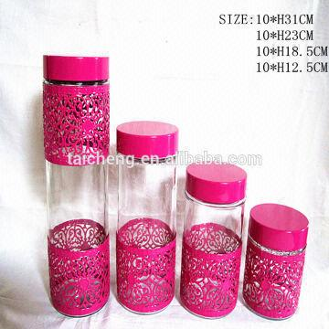 China Salt Sugar Tea Canisters And Coffee Canister