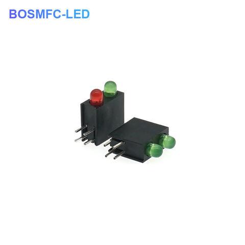 Plastic LED holder mount