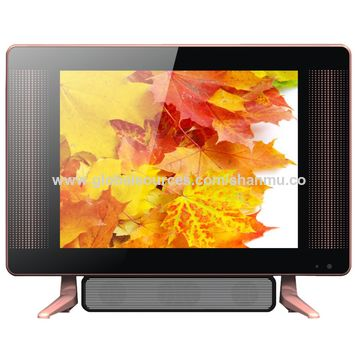 China 15/17/19-inch LED TV with double glasses