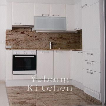 High gloss lacquered Kitchen cabinets Modern kitchen ...