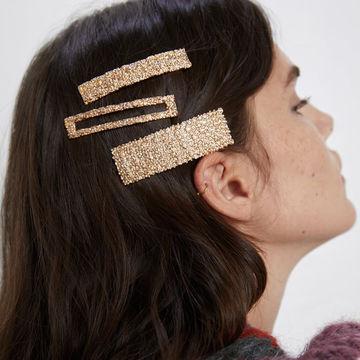 Crystal Letter Barrettes Hairwear Women Girls Hair Clips Wedding Party Hair Pins