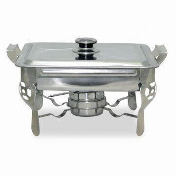 Astonishing Stainless Steel Buffet Chafing Dish Measures 33 5 X 27 5 X Interior Design Ideas Clesiryabchikinfo