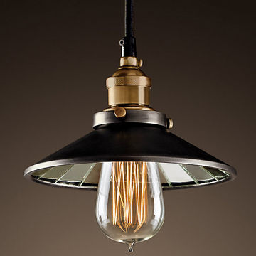 Antique Pendant Lights Made Of Iron 1 Light Global Sources