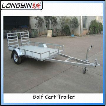 Galvanized Utility Atv Trailer/golf Cart Trailer for Sale | Global on industrial dump carts, ezgo gas cargo carts, taylor dunn carts, ezgo hunting carts, gas powered carts, ez go flatbed carts, flatbed cushman cart,