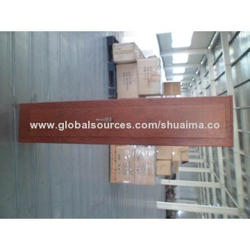 China Key Lock Safes, Powder-coated with Wooden-look-like, Steel Material