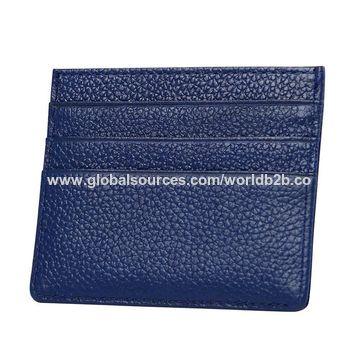 394cbfc13b91 China leather credit card holder from Shenzhen Wholesaler: Shenzhen ...