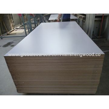 18mm E2 white melamine MDF board | Global Sources