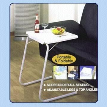Hong Kong SAR As Seen On TV Portable Sofa Table With Adjustable Height