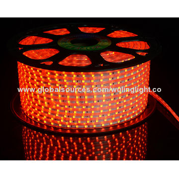 5050 red color light smd strips light flexible rope lights produced red flexible rope lights china red flexible rope lights aloadofball Gallery