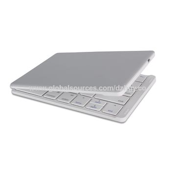 Ultra-slim folding Bluetooth keyboard