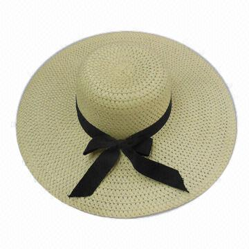 567216feb7f China Women s Paper Straw Sun Hat from Yiwu Manufacturer  Ebolle ...