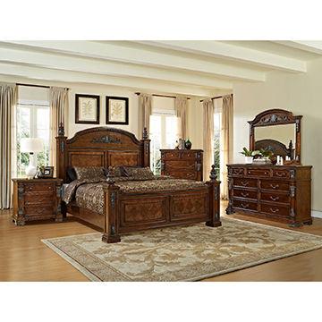 Antique Style Solid Wooden Home Furniture King Size Bedroom Set Global Sources