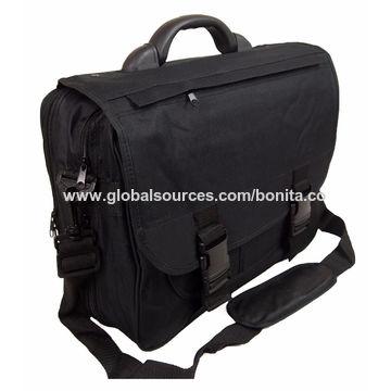df26bd40fc ... China Men Black Messenger Satchel Briefcase Work College School Utility Shoulder  Bag ...